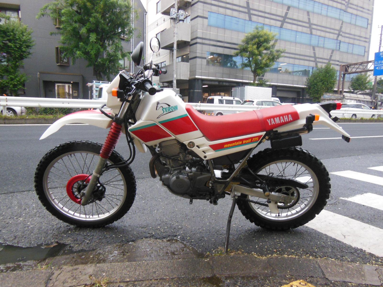 セロー225-2(4JG)YAMAHA|バイクブーン買取情報