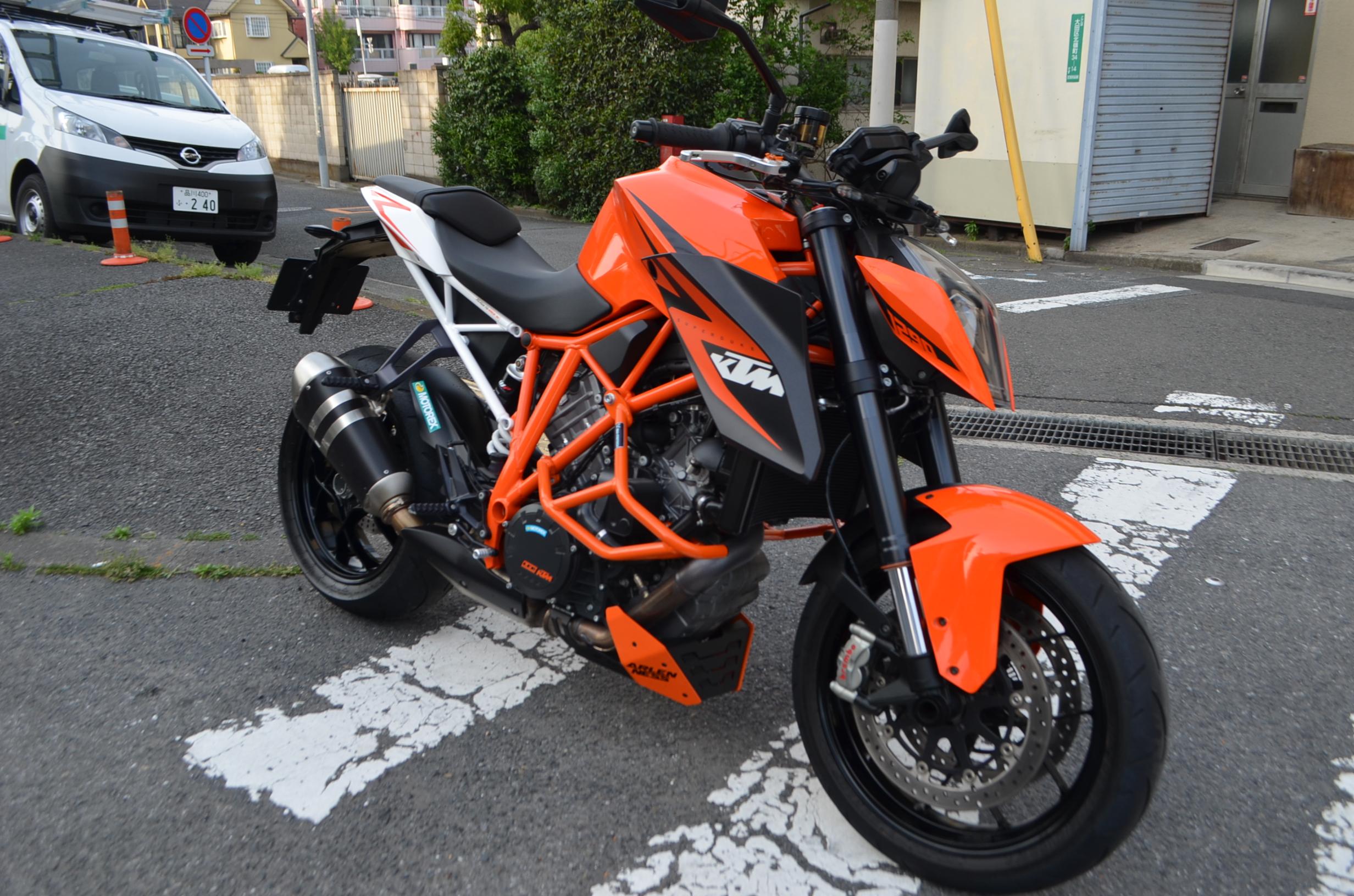 スーパーデュークR KTM