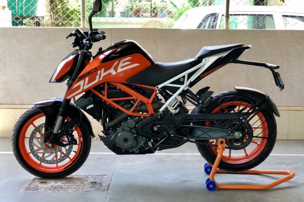 KTMのバイク