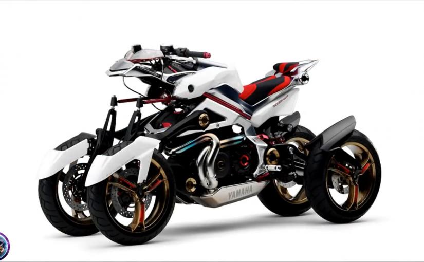 未来のバイクは3輪・4輪